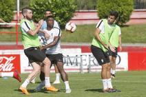 Entrenamiento del Sporting (18/09/18)