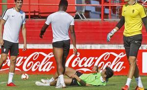 Sporting | Cara y cruz para Pelayo Morilla el mismo día
