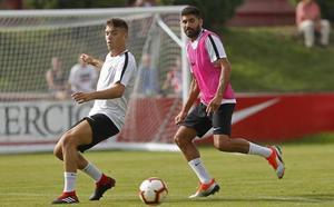 Carmona: «Tenemos que hacer bueno el punto ante el Numancia ganando en Pamplona»