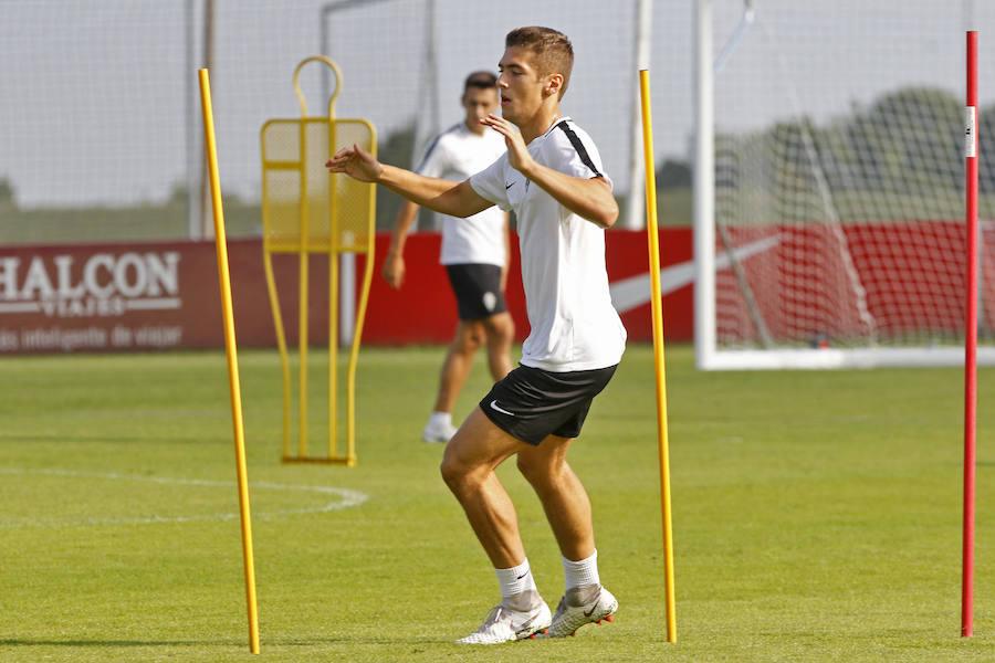 Entrenamiento del Sporting (19/09/18)