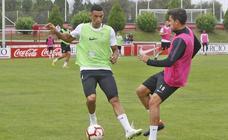 Entrenamiento del Sporting (21-09-2018)