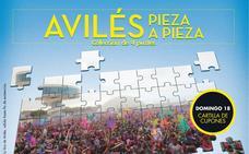 Colección de puzles Avilés, pieza a pieza