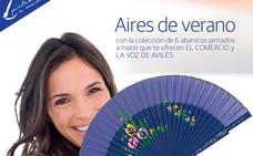 Colección de abanicos Aires de verano