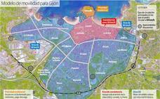 Gijón tendrá cinco aparcamientos disuasorios