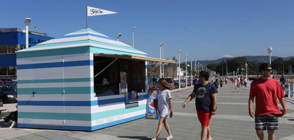 Gijón estrena sus puestos de helados