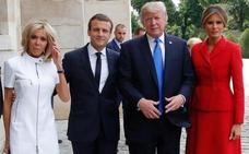 Trump avisa en París de que «algo podría pasar» respecto al acuerdo del clima