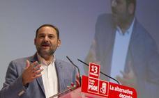 Ábalos afirma que el PSOE ofrece una alternativa a la polarización en Cataluña