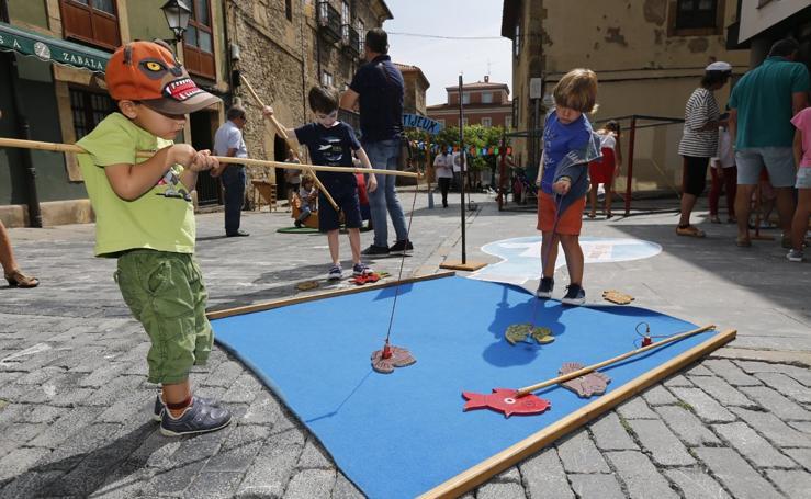 Los juegos tradicionales conquistan el Arcu Atlánticu