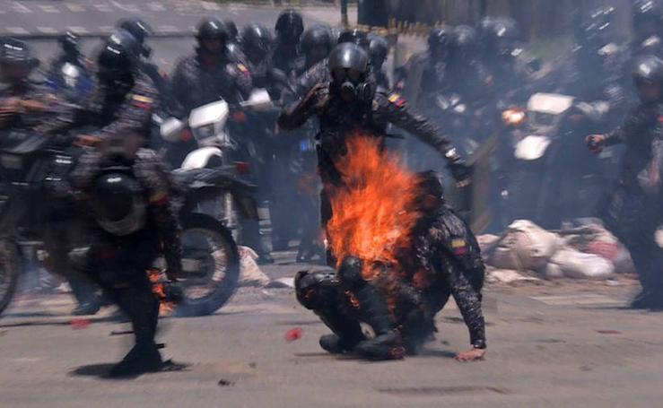 Las preocupantes imágenes de Venezuela