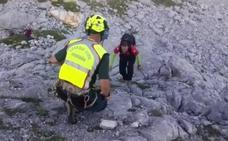 Complicado rescate de un espeleólogo en una sima de Picos de Europa