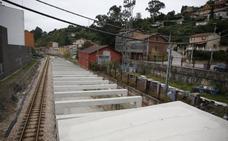 Langreo pedirá este mes al Principado fondos para urbanizar el soterramiento