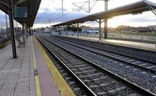 Muere tras ser arrollado por un tren en el apeadero de la Universidad de Valladolid