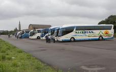 El parking disuasorio solo lo utilizan los autobuses