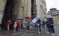 La Catedral de Oviedo recibe dos mil visitas más que en julio del año pasado