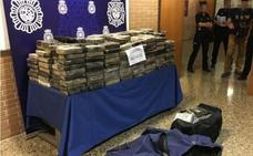 Detenido tras saltarse un control policial con 482 kilos de cocaína en Valencia