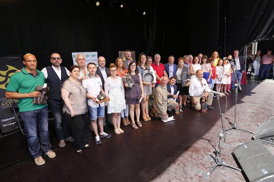 Entrega de premios del Concurso de Canción Asturiana