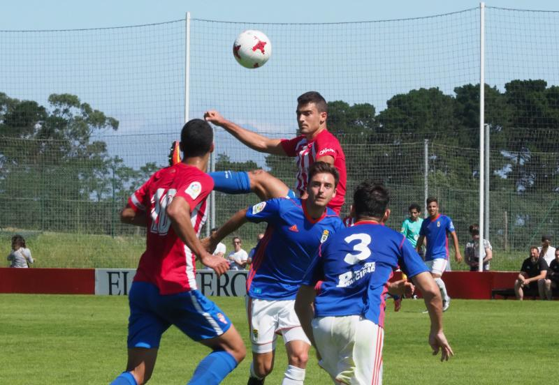Sporting B 1 - 0 Oviedo B, en imágenes