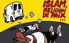 Polémica portada de 'Charlie Hebdo' sobre los atentados de Cataluña