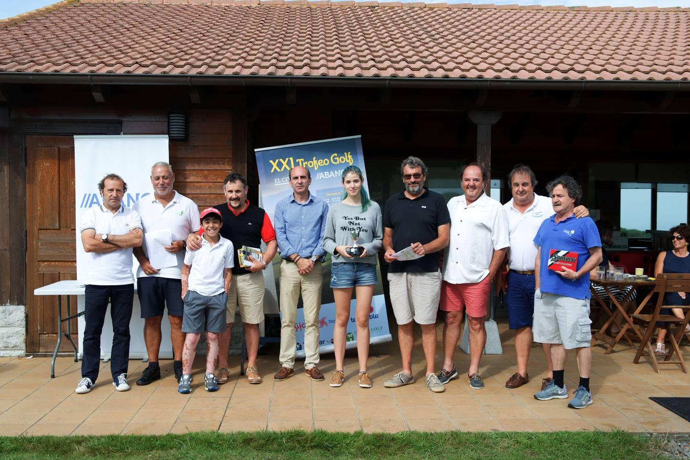 Trofeo de Golf El Comercio //Abanca: La Rasa de Berbés (Ribadesella)