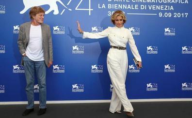 Redford y Fonda apasionan en Venecia con su oda a la madurez