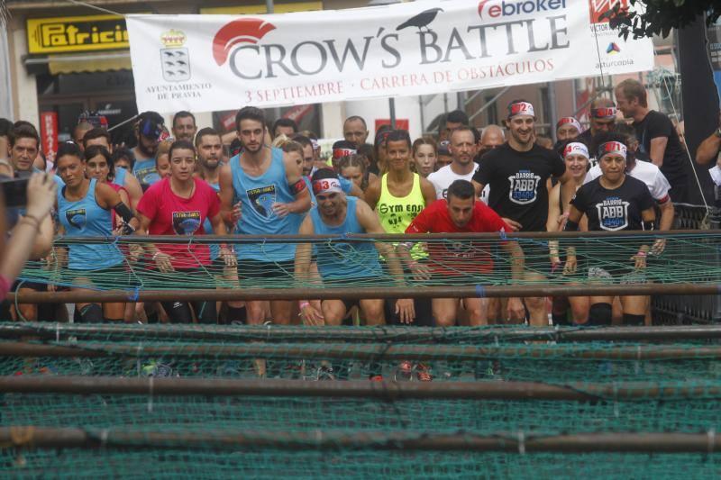 Los más intrépidos se dieron cita en la Crow's Battle de Pravia