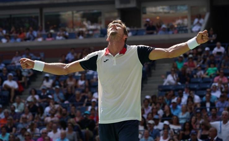 Pablo Carreno, a semifinales del Abierto de Estados Unidos