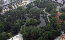 El Consistorio rescindirá el contrato para la draga de los estanques del parque