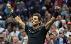 Nadal, Nadal, Nadal y volver a ganar