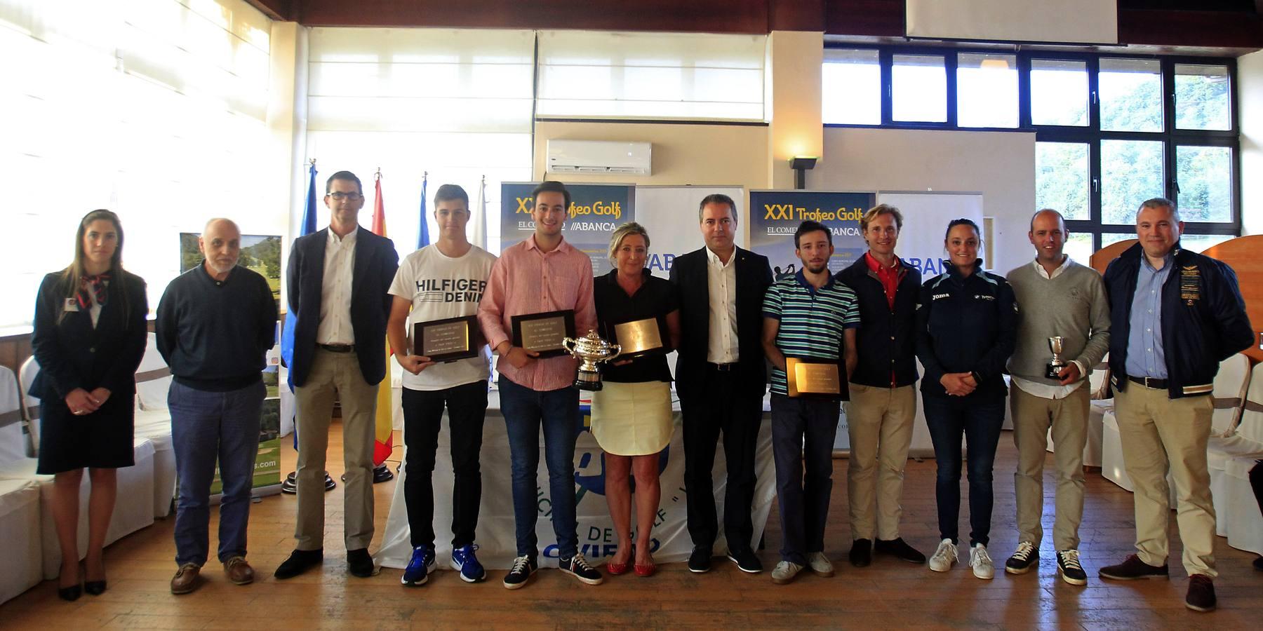 Trofeo de Golf El Comercio //Abanca: La gran final en Las Caldas (Oviedo)
