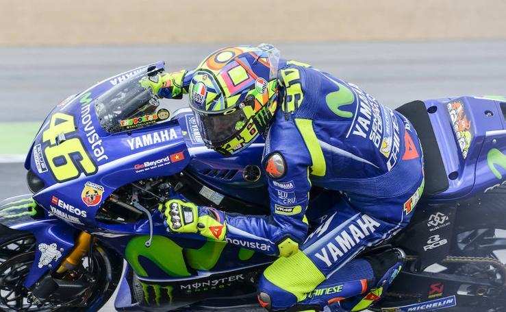 Las mejores imágenes de los entrenamientos del GP de Aragón