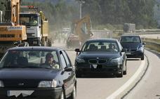 Un carril de la 'Y' quedará cortado a partir del lunes en Serín por obras