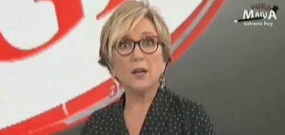 Inés Ballester, 'pillada' con el micrófono abierto