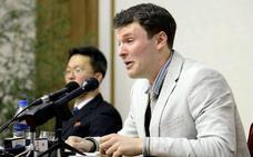 El forense no aclara la causa de la muerte de estadounidense reo en Corea del Norte