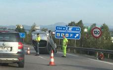 Un accidente en Paredes provocó retenciones de hasta seis kilómetros en la A-66
