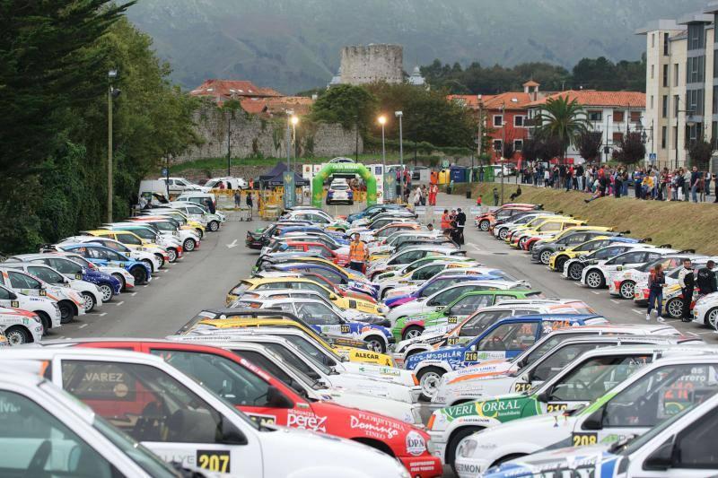 Comienza el Rallye de Llanes
