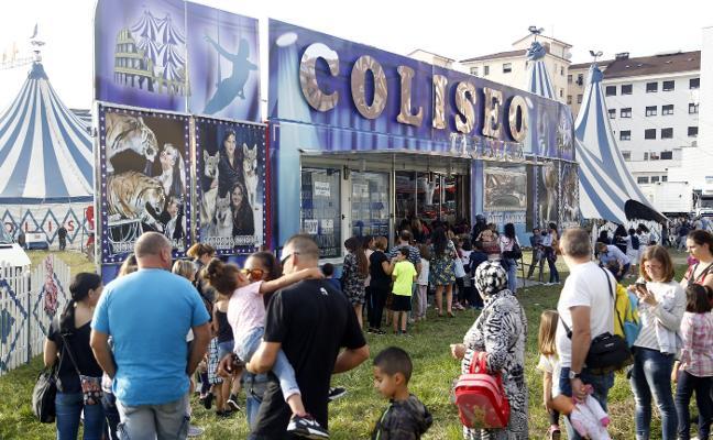 El Circo Coliseo dispone ya de todos los permisos para sus espectáculos
