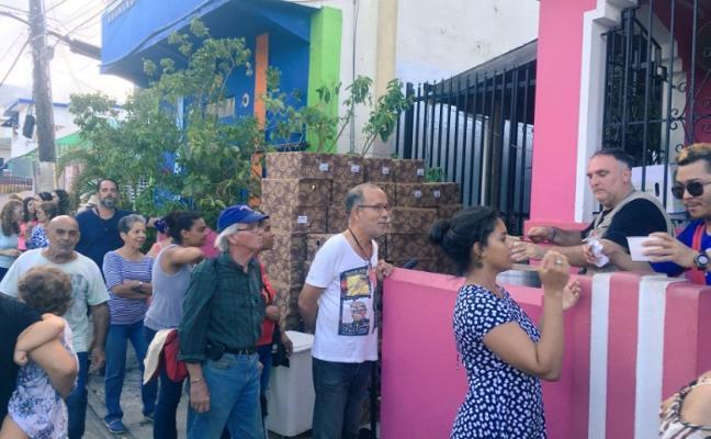 José Andrés cocina en Puerto Rico