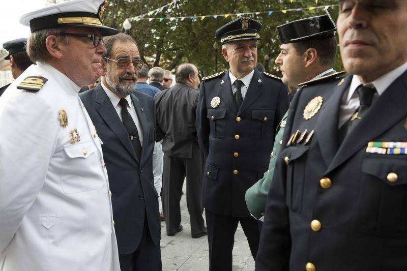 Celebración de los actos del Día de la Policía Nacional en Gijón