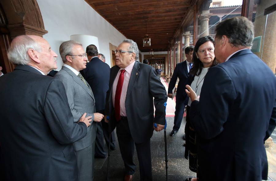 El ministro de Fomento, en Oviedo