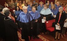 El italiano Enrico Clementi, doctor Honoris Causa por la Universidad de Oviedo