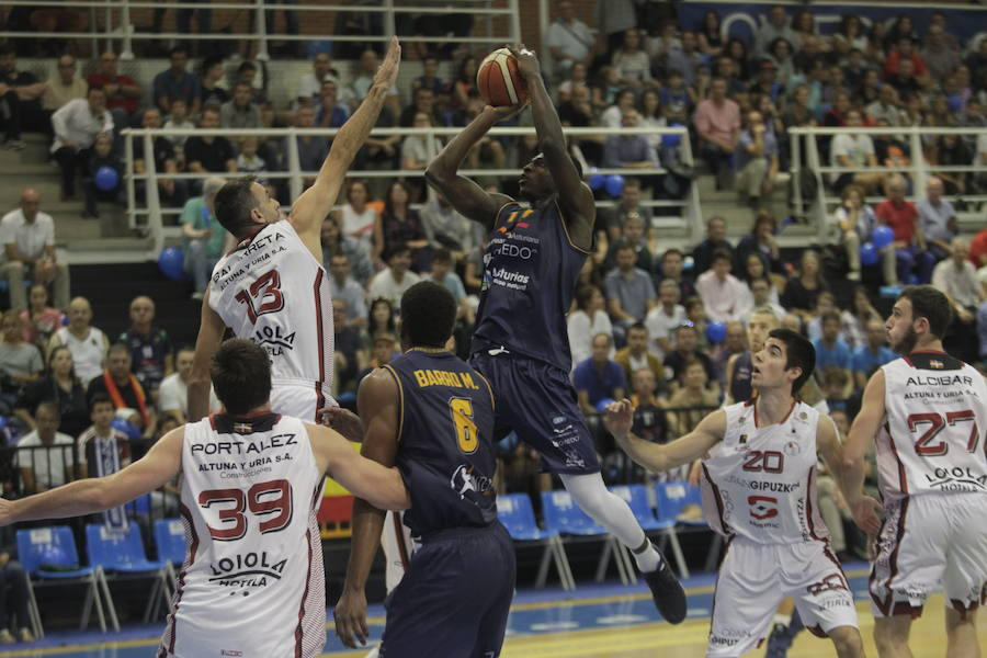 Unión Finaciera Baloncesto Oviedo 87 - 66 Sammic Hostelería