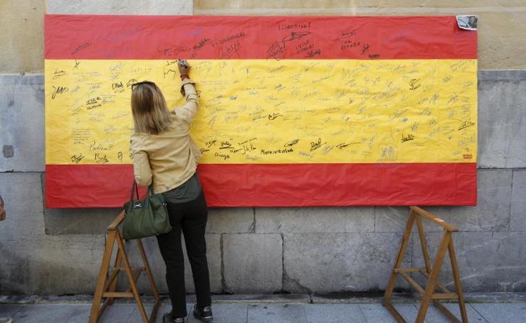 Acto en Gijón por la unidad de España