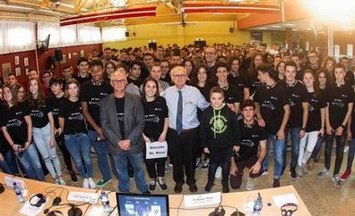 Rainer Weiss habla a los jóvenes de «la diversión» de hacer ciencia