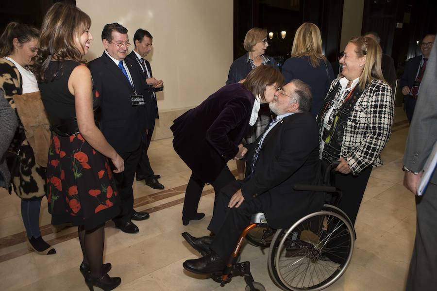 EL COMERCIO recoge uno de los Premios Solidarios que otorga la ONCE