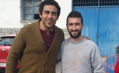 Amador, de 'La que se avecina', rueda en Tazones