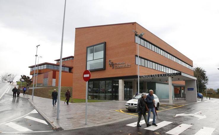 El hospital de Jove ya tiene listo su nuevo edificio de consultas