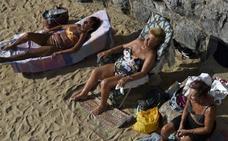 Más calor y vientos de hasta 110 kilómetros hora para el miércoles en Asturias