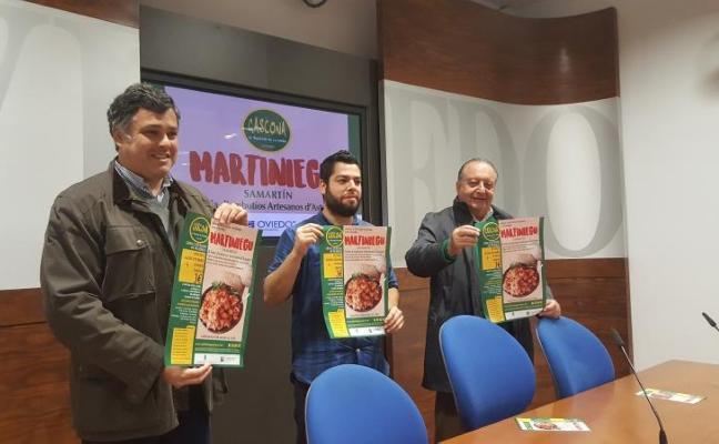 400 raciones de picadillo para el 'Martiniegu' de Gascona