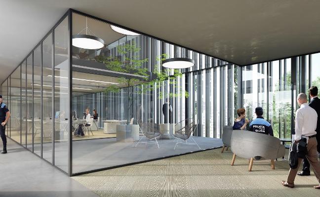 La nueva sede de la Policía Local tendrá cubierta vegetal y dieciocho patios interiores