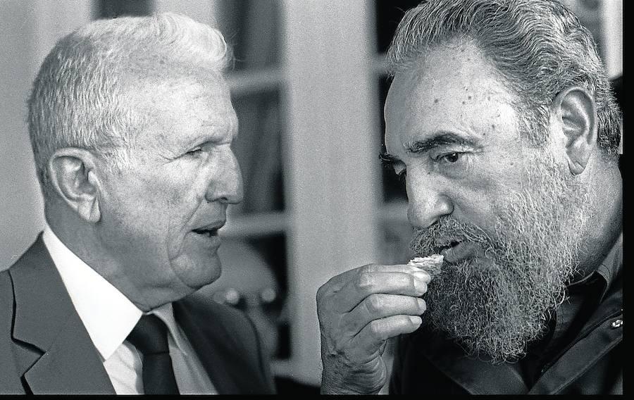 La faceta más asturiana de Fidel Castro